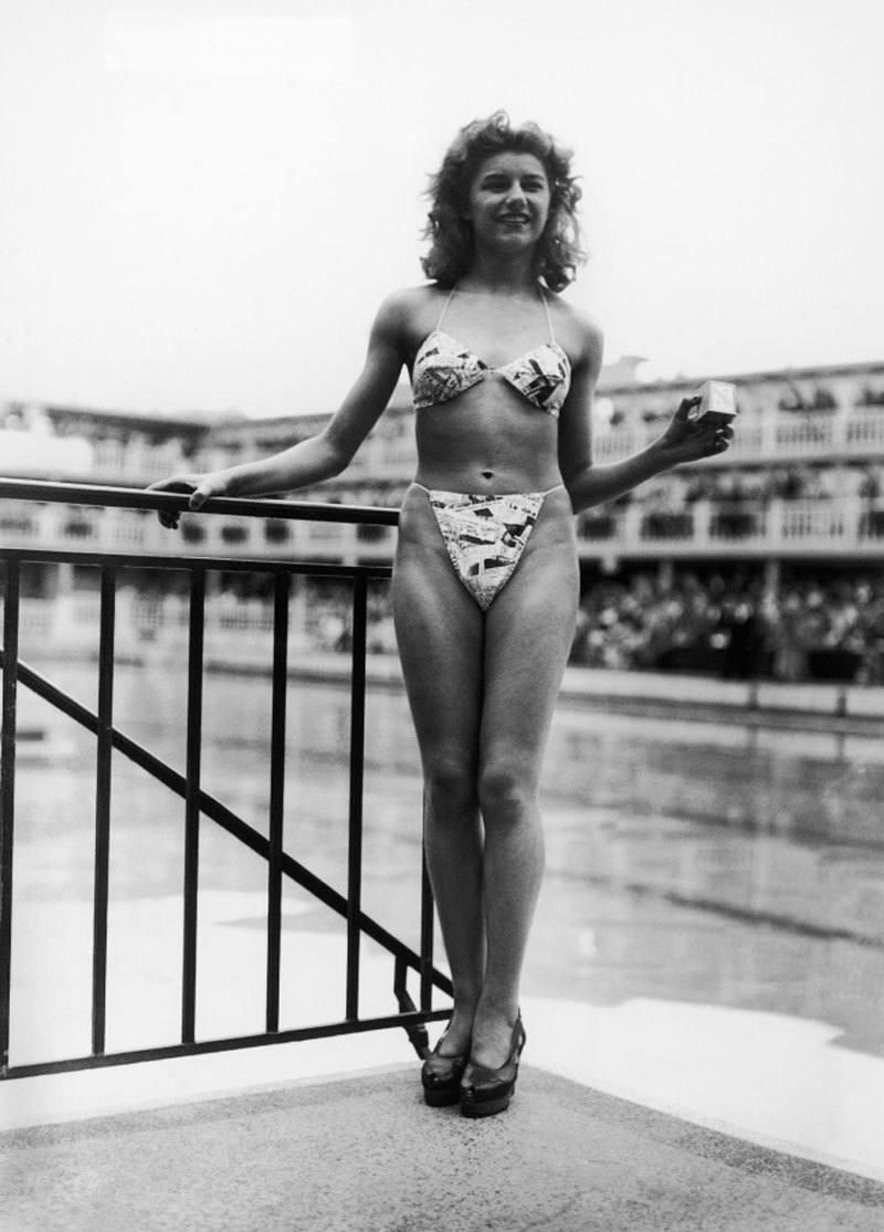 World's First Bikini
