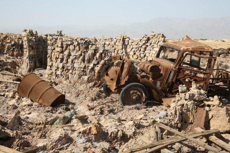 Car Remains Dallol