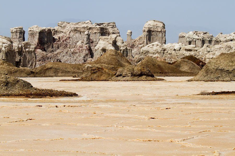 Hottest Place On Earth Danakil Desert