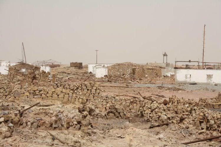 Fallen Buildings