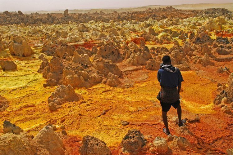 Hottest Place On Earth Dallol Ethiopia