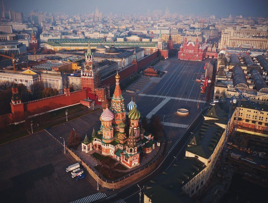 illegal drone images kremlin