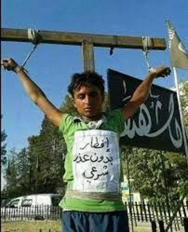 Child Crucifixion