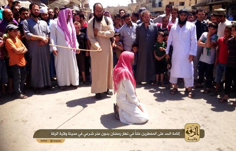 Life Under ISIS Flogging