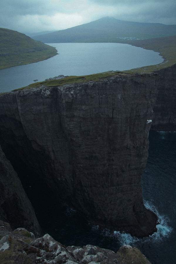 Lake Leitisvatn Faroe Islands