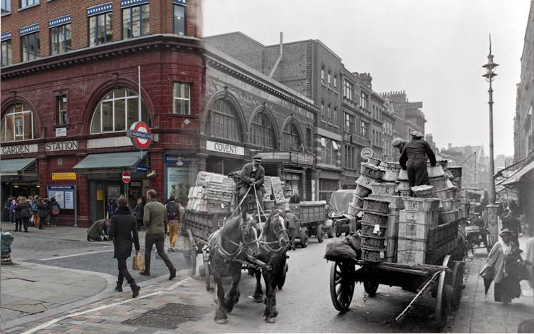 London Then Now Carriage