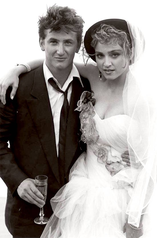 Madonna Sean Penn Wedding