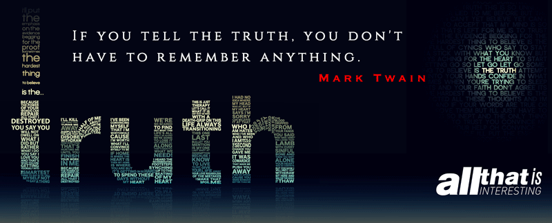 Mark Twain On Truth