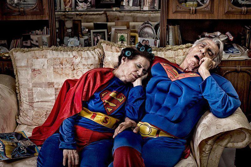 Elderly Superheroes by Beck