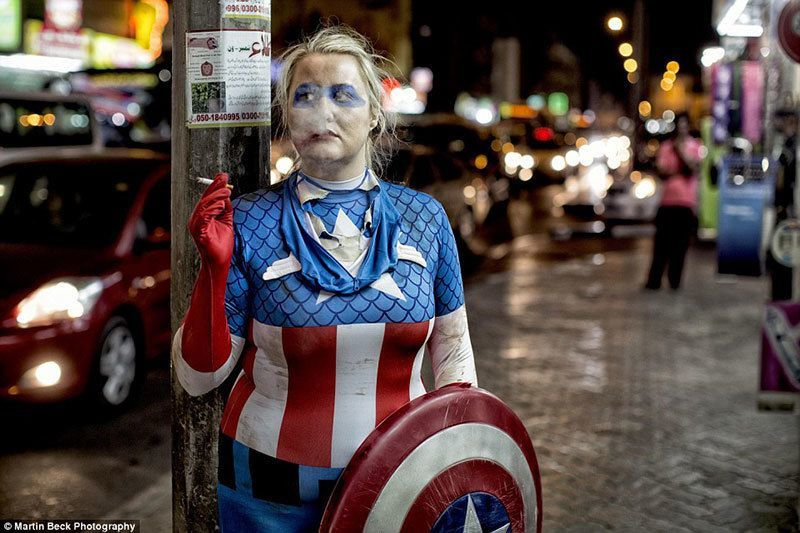Martin Beck Superheroes Photography