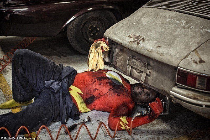 Superhero Mechanic
