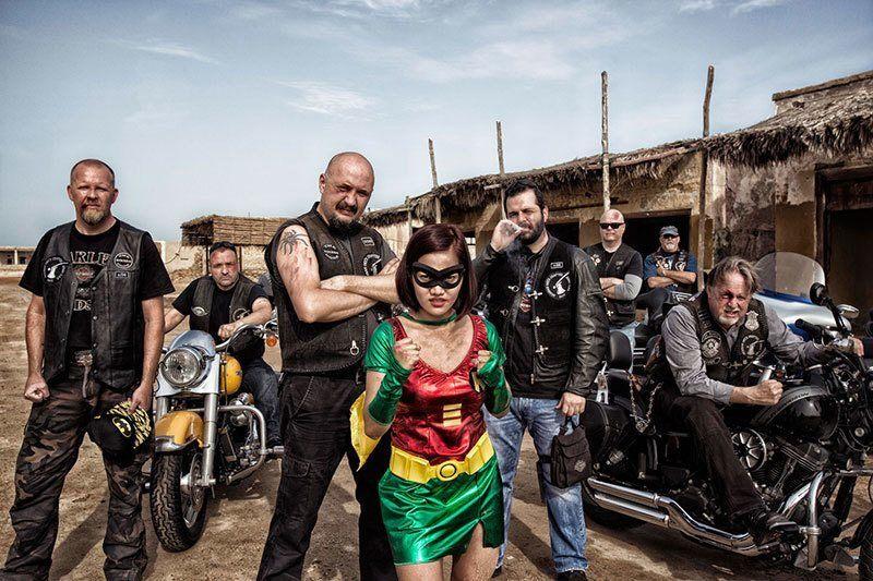 Motorcycle Gang Superheroes