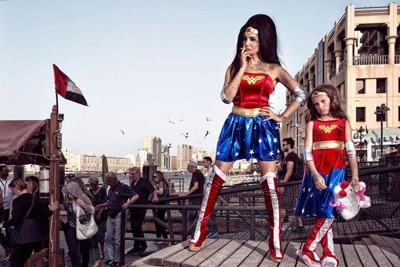 Wonder Woman and Daughter