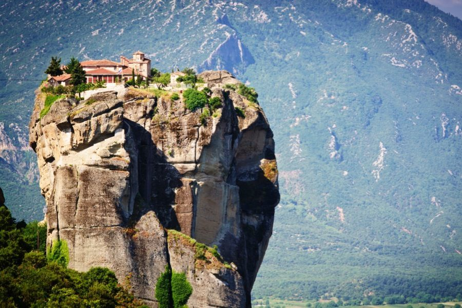 Meteora Greece Mountaintop Monastery