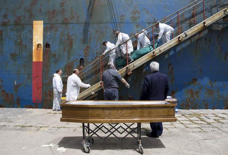 Migrant Crisis Dead Body