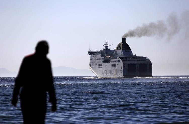 Migrant Crisis Departing Boat