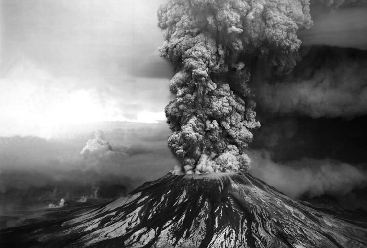 Mt St Helens Eruption
