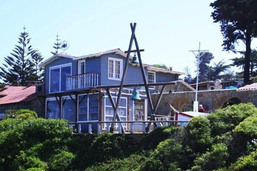 Isla Negra Pablo Neruda Houses