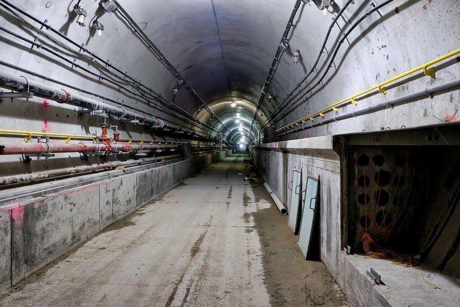 new york subway vast tunnel