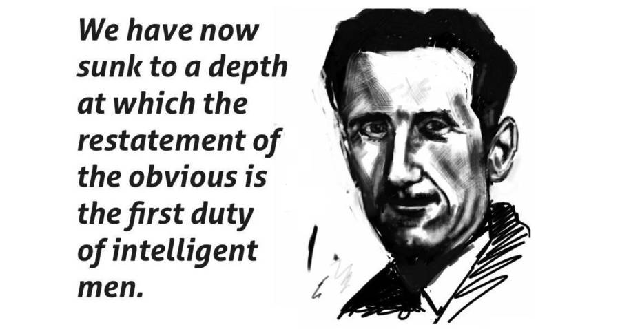 25 George Orwell Quotes On Power Politics And The Future Of Mankind