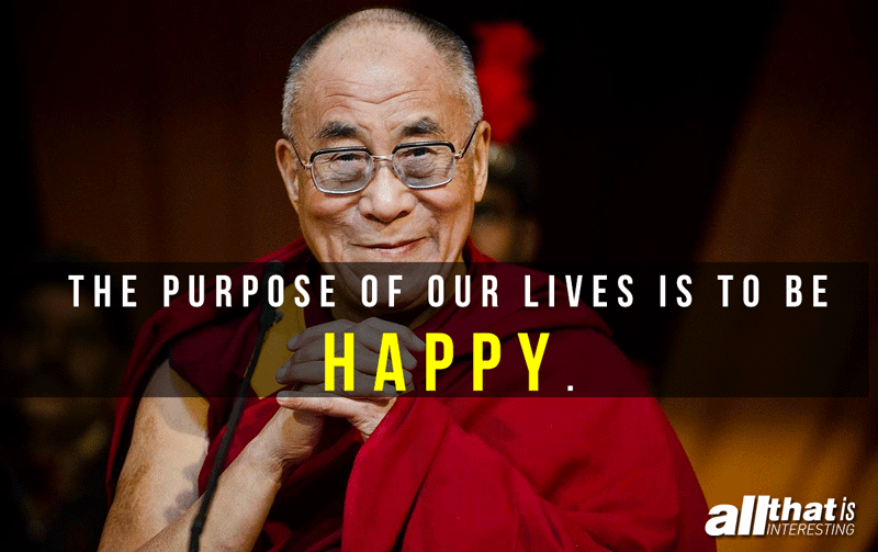Purpose Of Life Dalai Lama Quote