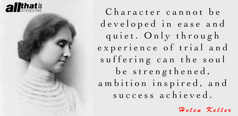 Deep Quotes About Life Helen Keller