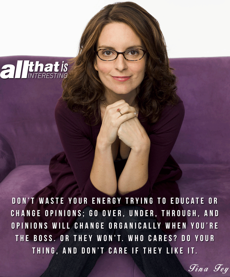 Quotes About Life Tina Fey