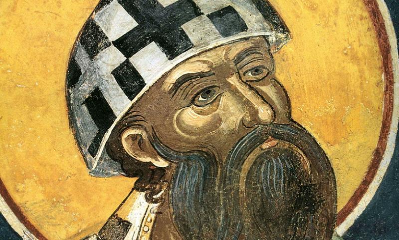 Saint Cyril Portrait