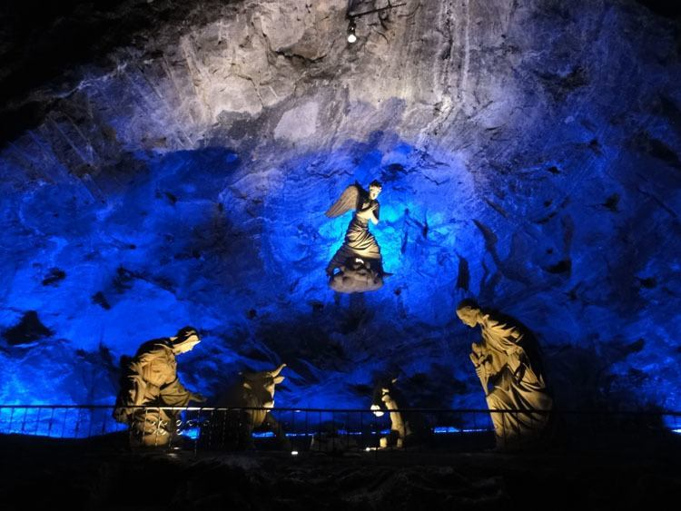 salt caves zipaquira angels