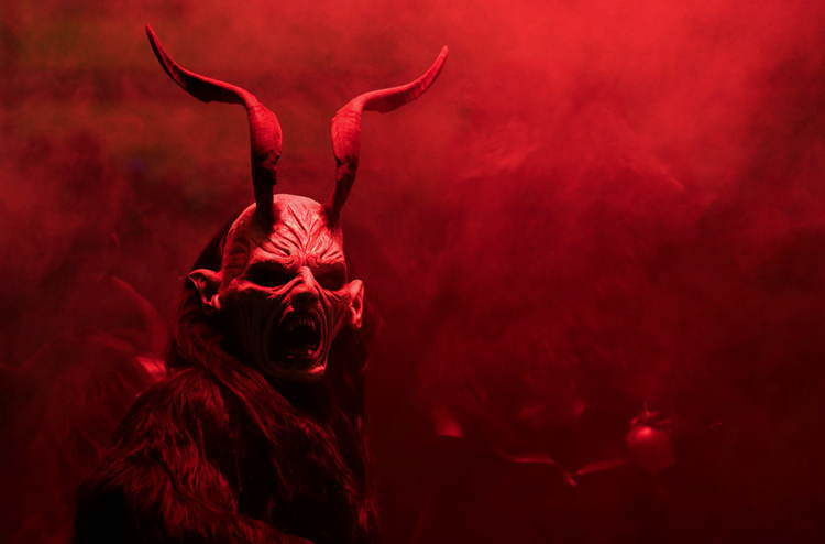 Scary Mask Devil Krampus