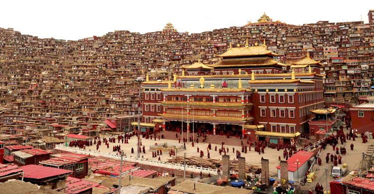 Seda Monastery Tibet Temple