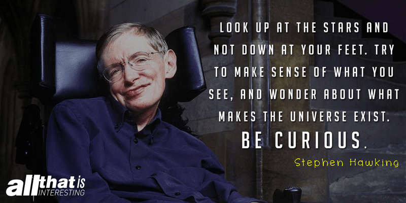 Stephen Hawking Quote On Being Curious