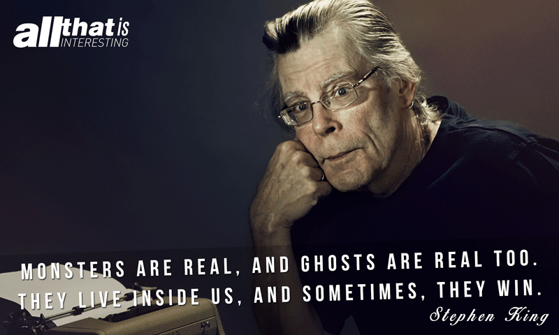 Stephen King On Monsters