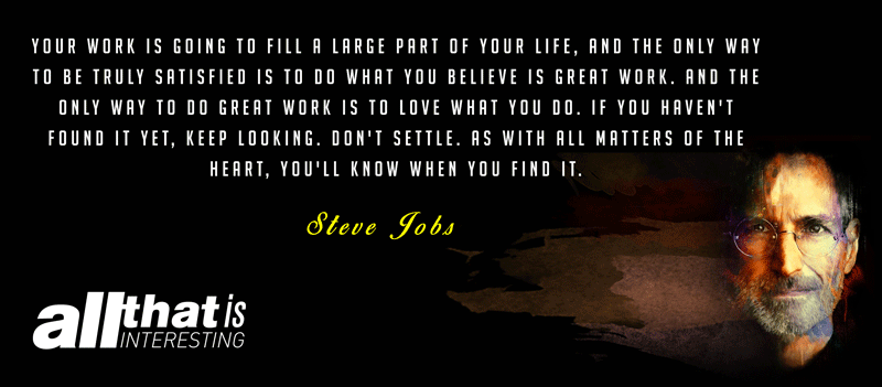 Motivational Steve Jobs Quote
