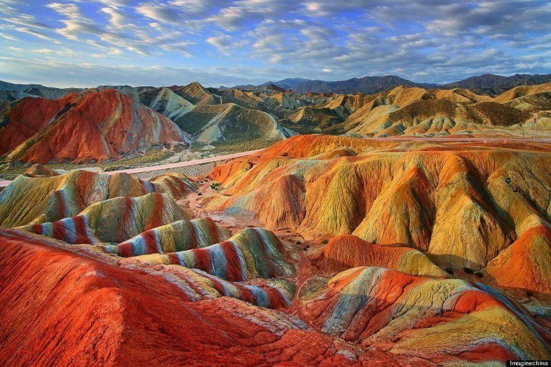 Danxia Striped Mountains