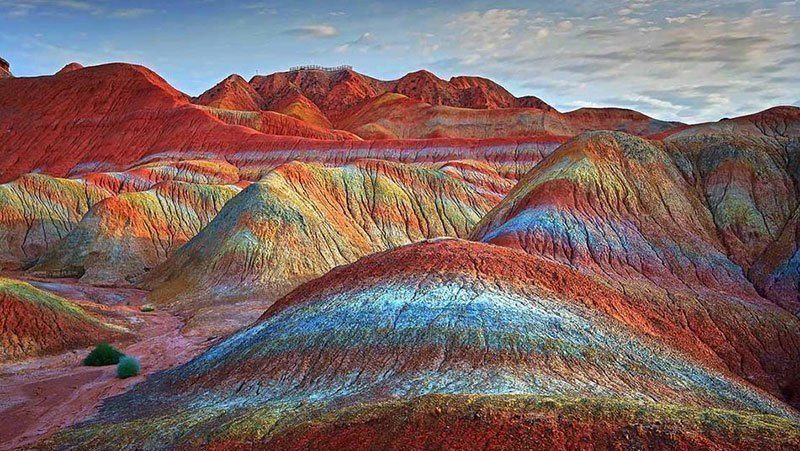 China Striped Mountains