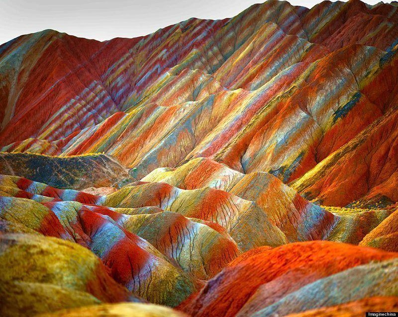 China's Colorful Rainbow Mountains