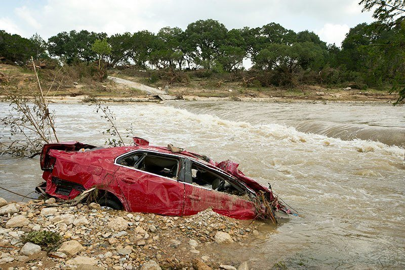 Texas Floods Destruction