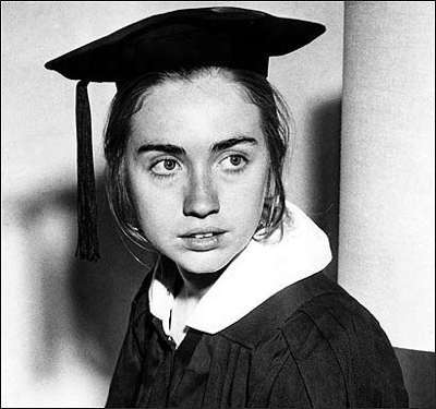 Twentysomething Hillary Clinton Graduate
