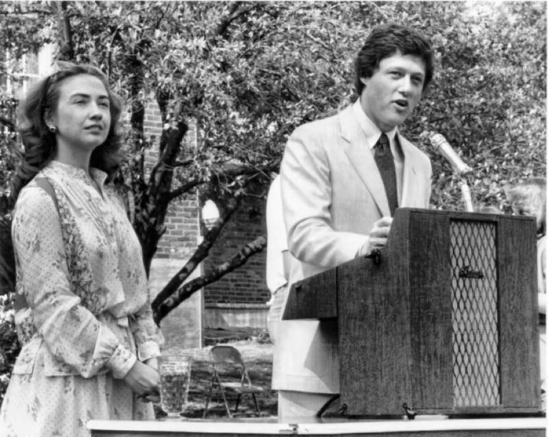 Twentysomething Hillary Clinton Bill