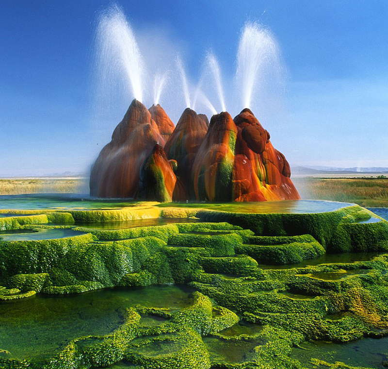 Unbelievable Places Fly Geyser