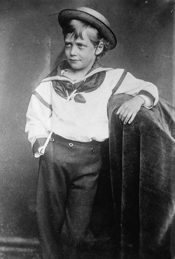 Boy King George V