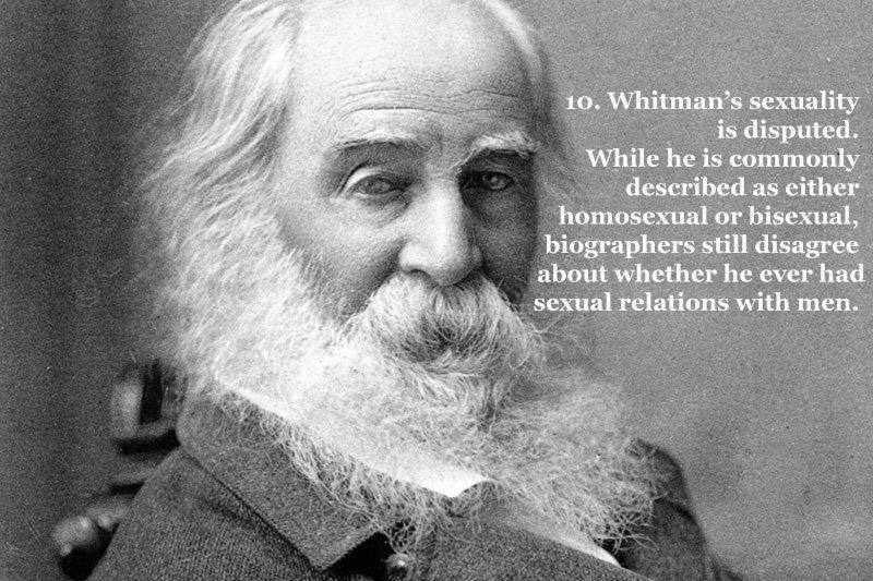 Whitman's Sexuality Debate