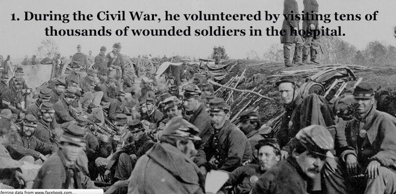 Whitman Volunteer During Civil War