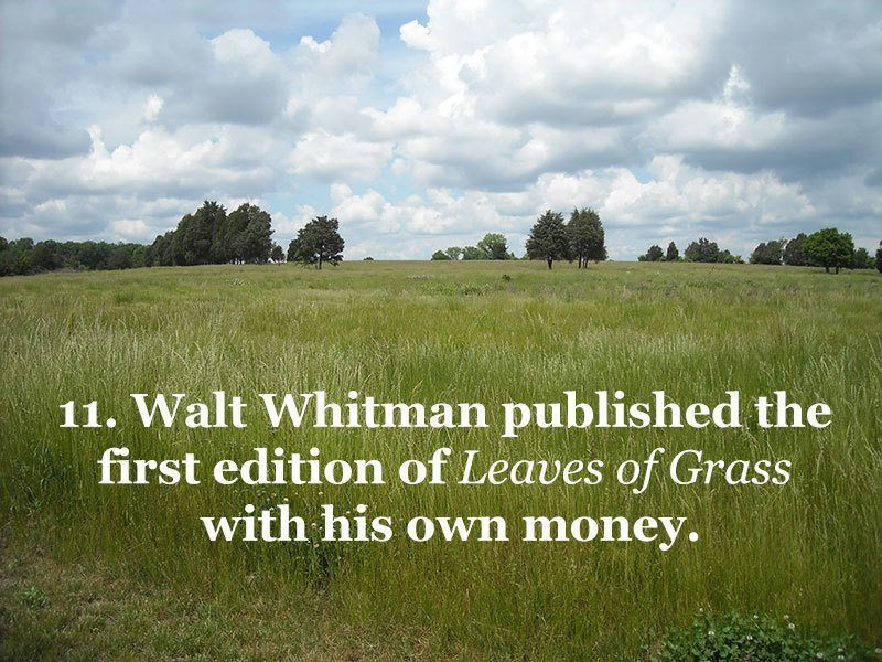 Whitman Self-Publishes Leaves of Grass