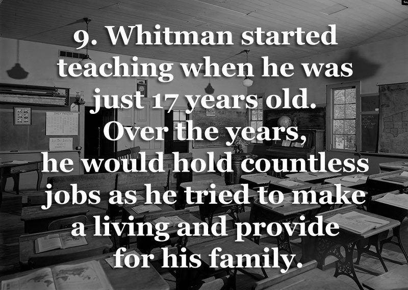Whitman as Teacher