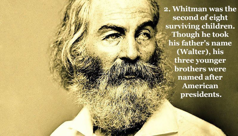 Surprising Facts About Walt Whitman