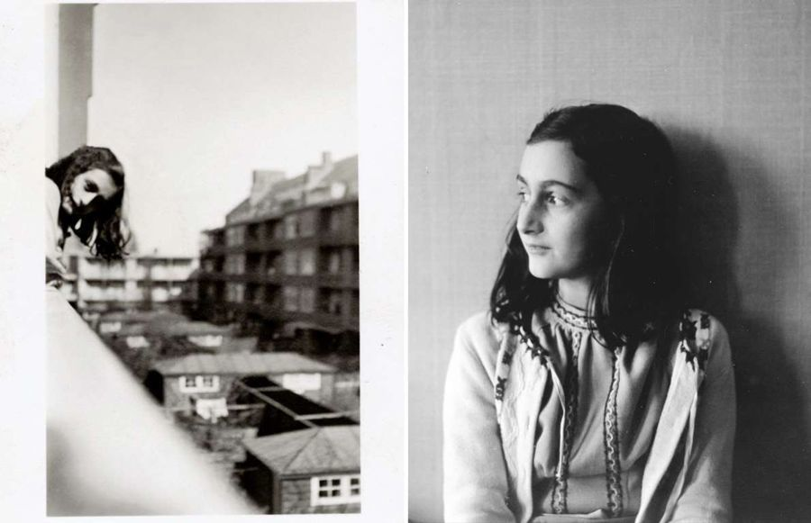 anne frank scrapbook contemplation