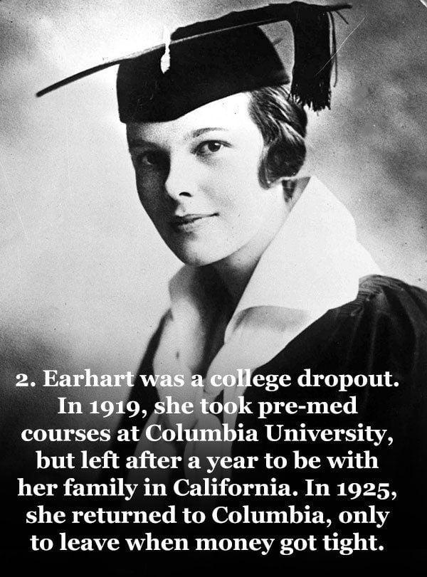 Amelia Earhart 1918