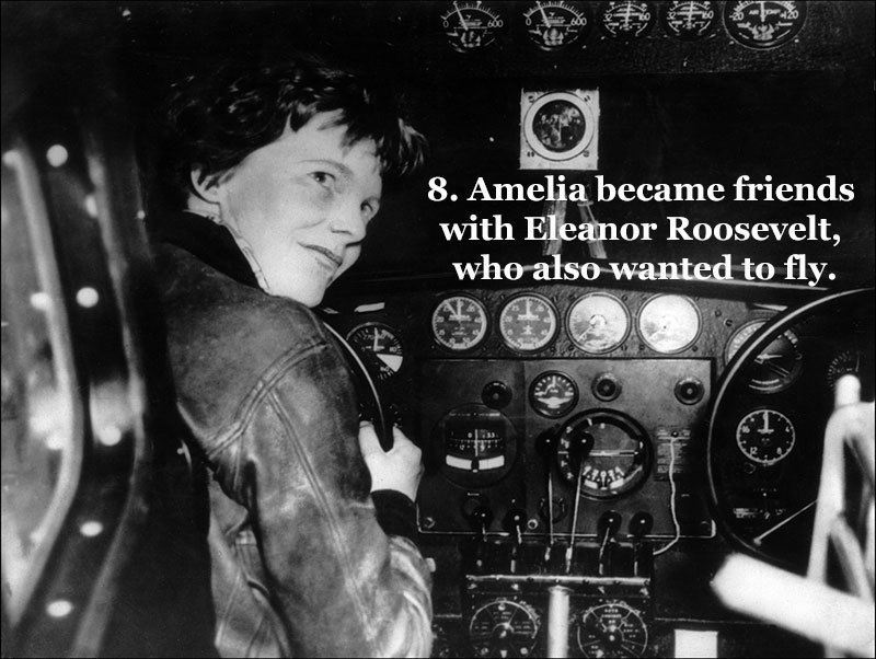 Eleanor Roosevelt and Earhart